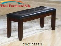 Bardstown Bicast Bench by Crown Mark