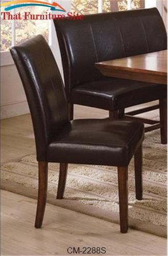 Salem Side Chair by Crown Mark  | Austin
