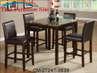 Anise Counter Height Table by Crown Mark