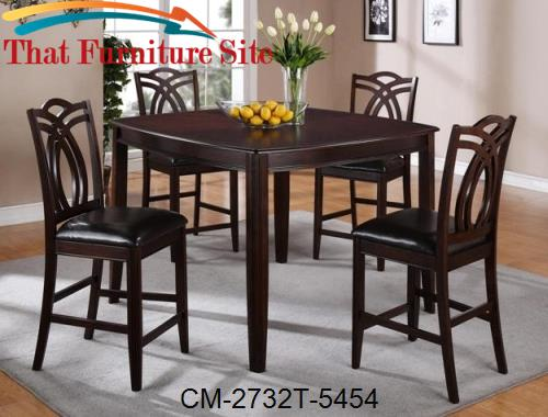 Joni Counter High Table by Crown Mark  | Austin