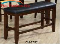 Bardstown Counterheight Bench by Crown Mark
