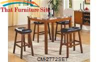 Aaron Counter Height Table Set by Crown Mark