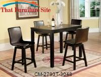 Delia Counter Height Table by Crown Mark