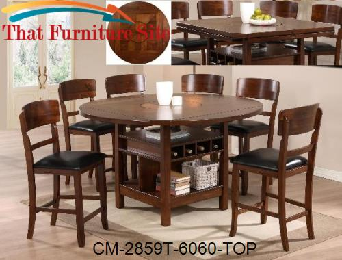 Conner Counter Height Table Top by Crown Mark  | Austin