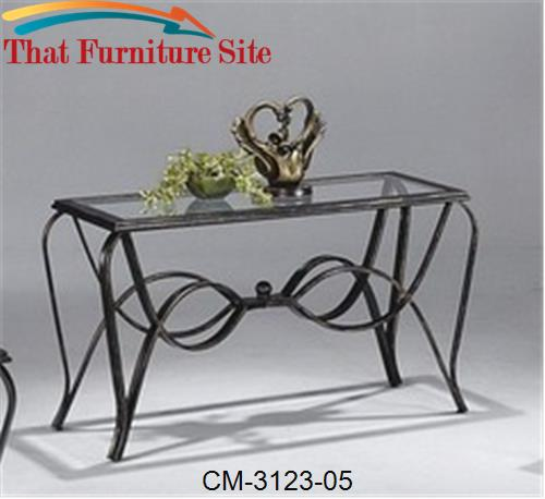 Monarch Sofa Table by Crown Mark  | Austin