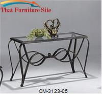 Monarch Sofa Table by Crown Mark