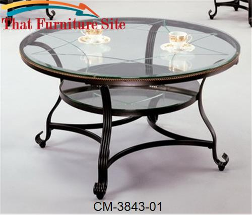 Jessica Coffee Table by Crown Mark  | Austin