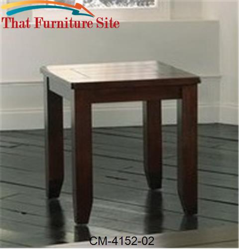 Bardstown End Table by Crown Mark  | Austin