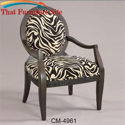 Kenya Accent Chair by Crown Mark  | Austin