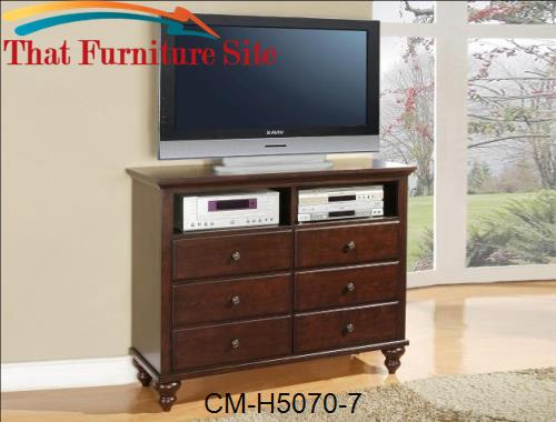 Portsmouth Tv Chest by Crown Mark  | Austin