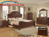 Traditions Bedroom Suite by Crown Mark