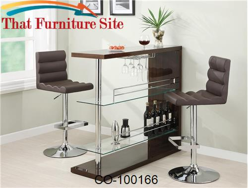 Contemporary Bar Table by Coaster Furniture  | Austin