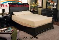 "Milano 10"" Twin Long Mattress by Coaster Furniture"