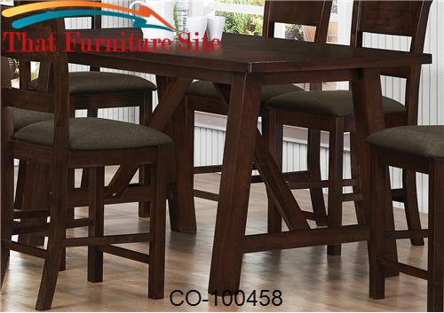 Nelms Counter Height Table By Coaster Furniture Austin