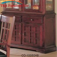 Newhouse Buffet with Doors and Drawers by Coaster Furniture