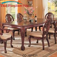 Tabitha Traditional Rectangular Dining Table by Coaster Furniture