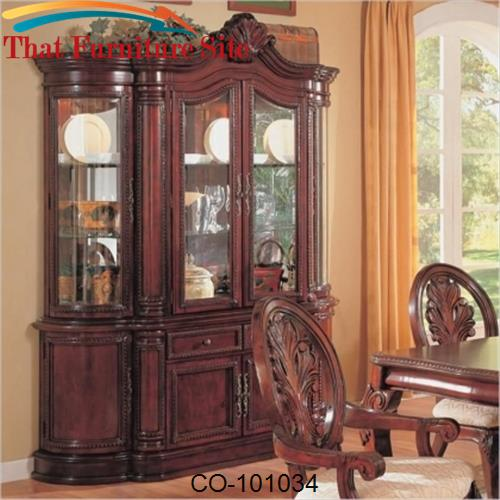 Tabitha Traditional China Cabinet by Coaster Furniture  | Austin