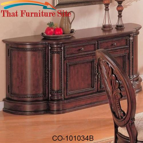 Tabitha Traditional Buffet by Coaster Furniture  | Austin