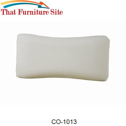 Comfort Memory Foam Pillow MEDIUM by Coaster Furniture  | Austin