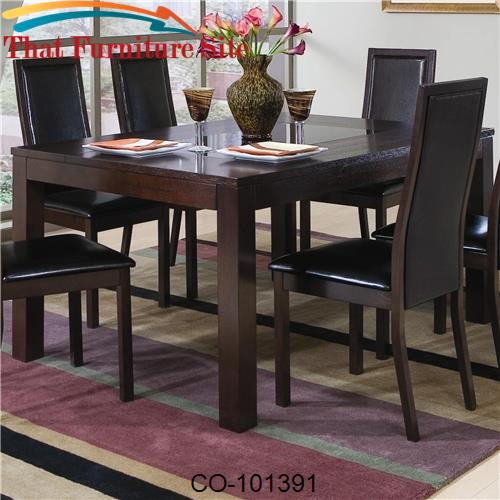 Semi Formal Rectangle Leg Dining Table, What Is A Semi Formal Dining Room