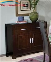 Morningside Contemporary Server with Doors and Drawers by Coaster Furniture