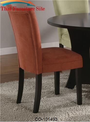 Bloomfield Terracotta Parson Chair by Coaster Furniture  | Austin
