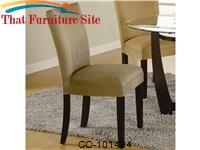 Bloomfield Taupe Parson Chair by Coaster Furniture