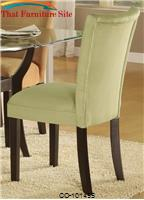 Bloomfield Light Green Parson Chair by Coaster Furniture