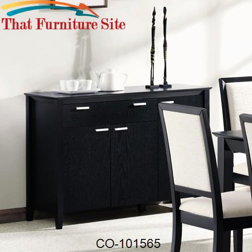 Lexton Server with Drawer & Door Storage by Coaster Furniture  | Austi