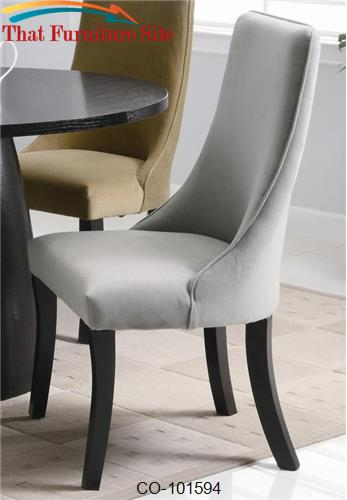 Amhurst Gray Parson Chair by Coaster Furniture  | Austin