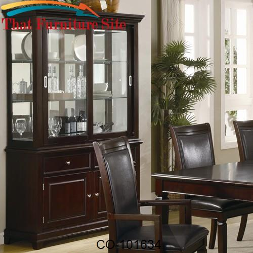 Ramona Formal Dining Room Buffet with Hutch by Coaster Furniture  | Au