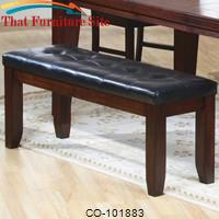 Imperial Upholstered Bench by Coaster Furniture