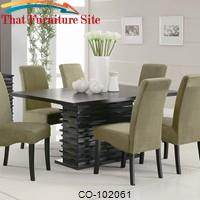 Stanton Contemporary Dining Table by Coaster Furniture