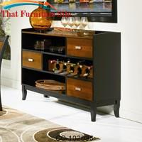 Boyer Server with 3 Storage Drawers by Coaster Furniture