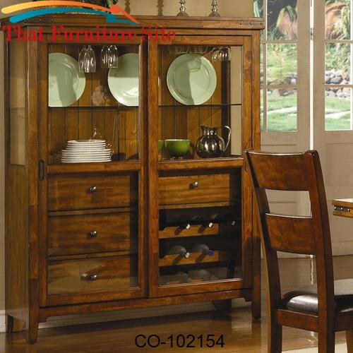 Lavista Cabinet w/ Sliding Glass Doors by Coaster Furniture  | Austin