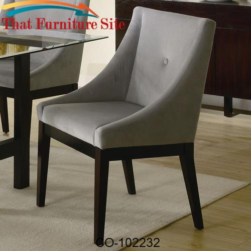 Alvarado Upholstered Dining Side Chair by Coaster Furniture  | Austin