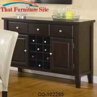Carter Buffet Style Server by Coaster Furniture
