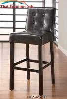 "Bar Units and Bar Tables 29"" Upholstered Bar Stool by Coaster Furniture"