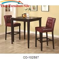 Bar Units and Bar Tables Square Pub Table by Coaster Furniture