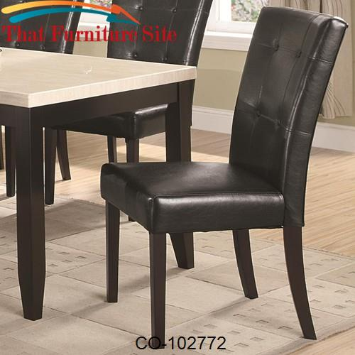 Anisa Dining Side Chair by Coaster Furniture  | Austin
