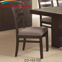 Dabny Ladder Back Dining Chair by Coaster Furniture