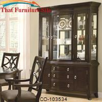 Meredith Buffet w/ Hutch by Coaster Furniture
