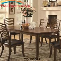 Avery Casual Dining Table with Two Table Leaves by Coaster Furniture