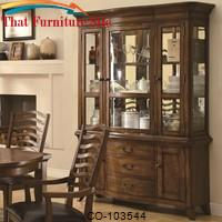 Avery Casual China Cabinet with Three Drawers and Mirrored Back Panels by Coaster Furniture