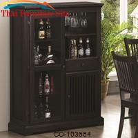 Marbrisa Mission Style Bar Cabinet by Coaster Furniture
