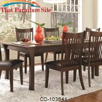 Rivera Casual Dining Table by Coaster Furniture