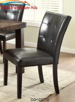 Milton Dining Side Chair w/ Plush Upholstery by Coaster Furniture