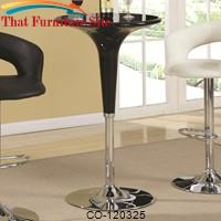 Bar Units and Bar Tables Modern Adjustable Bar Table by Coaster Furniture