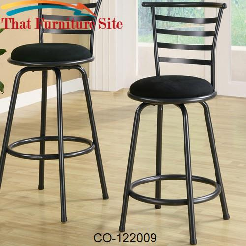 Dining Chairs And Bar Stools 24 Metal Bar Stool With Upholstered Seat