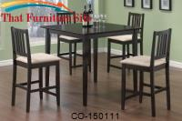 Archer 5 Piece Counter Height Dining Set by Coaster Furniture
